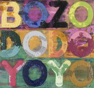 Mel Bochner, 'Bozo', 2019