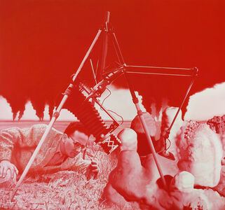 "Erol Eskici, 'Stratigrapher (Sedimenter Petrograph ""Karstwelt"")', 2017"