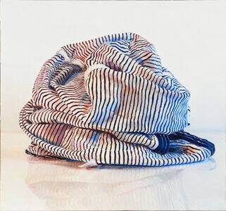 Ray Kleinlein, 'Black and White Stripes', 2018
