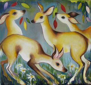 Zoa Ace, 'Forest Deer', 2020