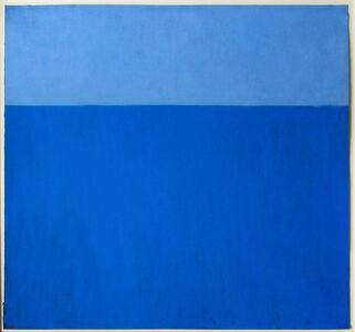 Harriet Zabusky-Zand, 'Motif in Blue/Indigo ', ca. 2005