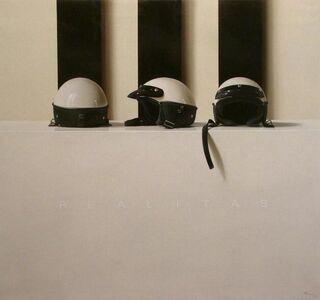 Fernando O'Connor, 'Three Helmets '