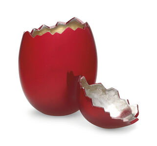 After Jeff Koons, 'Cracked Egg (Red)', 2008