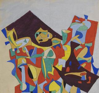 Jan Matulka, 'Abstract Configurations', ca. 1930