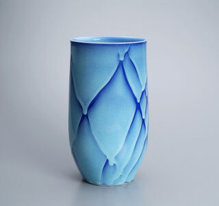 Shomura Ken, 'Flower Vase in Blue', 2014