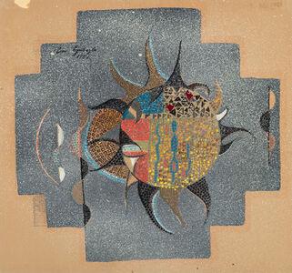 Eren Eyüboğlu, 'Design for Mosaic', 1957