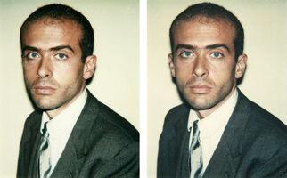 Andy Warhol, 'Francesco Clemente 2 Polaroids', 1981