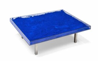 Yves Klein, 'IKB Table', 1963