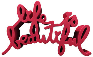 Mr. Brainwash, 'Life Is Beautiful (Large Pink)', 2015