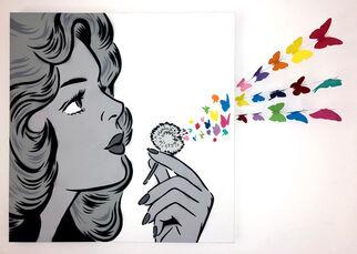 Rainbow Blow My Mind Butterflies
