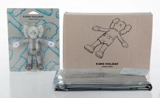 KAWS, 'Holiday: Hong Kong Bath Toy and Floating Bed (two works)', 2019
