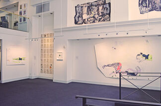 Dialogues in Drawing, installation view