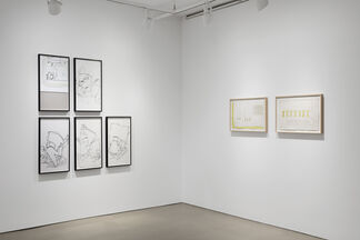 101 Drawings, installation view