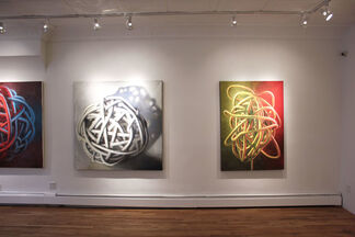 KNOTS & SIMPLE THINGS, installation view