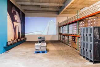 Oscar Murillo: A Mercantile Novel, installation view