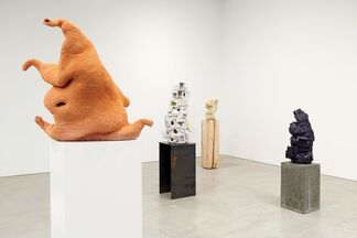 Arlene Shechet: All at Once, installation view