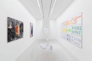 """RESTONS UNIS — 'SOUS LE SOLEIL EXACTEMENT"""", installation view"""