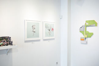 pa•per: A Group Exhibition Curated by Jason Chen, installation view