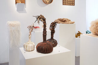The Nature of Things: Contemporary Japanese Woven Sculpture, installation view