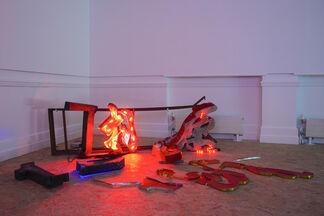 He An - Birthmark, installation view