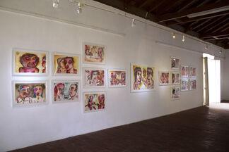 La Sangre Llama, installation view