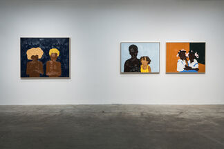 33 Works By 3 Artists, installation view