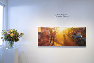Tom Birkner: Chromatic Fictions, installation view