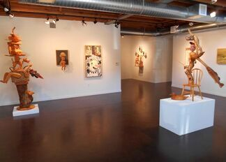 """""""7 Year Itch"""" by Michael Stevens and Suzanne Adan, installation view"""