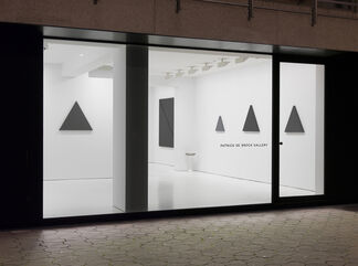 Alan Charlton — Triangle Paintings, installation view
