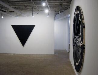 "Steven Parrino - ""Plan 9"", installation view"