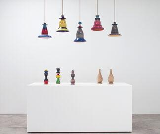 Torbjörn Vejvi - A Number of Lamps, installation view