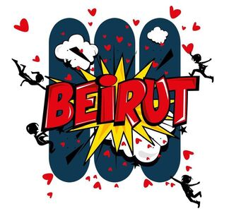 Nayla Kai Saroufim, 'Rebuilding Beirut, One heart at a time', 2020