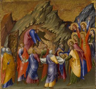 Giovanni di Paolo, 'The Entombment', 1426