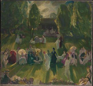 George Wesley Bellows, 'Tennis at Newport', 1919