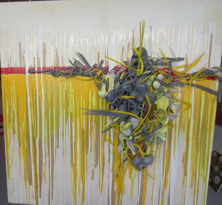 """Duane Paul, '""""Conflicted"""" Mixed Media On Canvas', 2010-2019"""