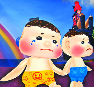 Potchi Moopp, 'twins', 2011