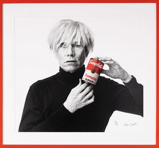 Andrew Unangst, 'Andy Warhol with Red Campbell's Soup Can', 1985/2018
