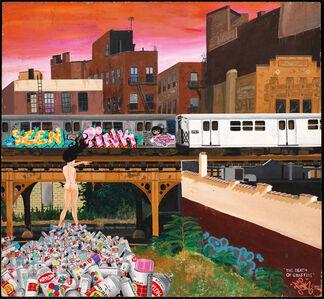 LADY PINK, 'The Death of Graffiti', 1982
