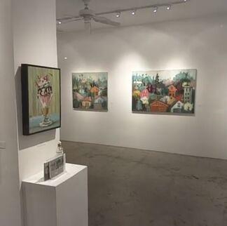 Bradford J Salamon - Post-Painterly Sensations, installation view