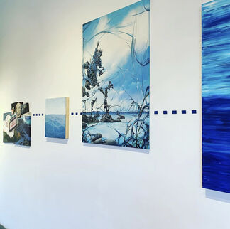 Painting Forest in the Endless Horizon, installation view