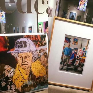 Childers and Hockney, installation view