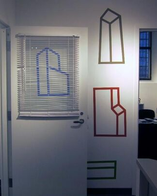 """""""Color Ways"""" / """"On the Wall"""", installation view"""