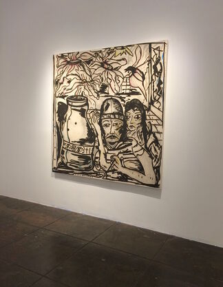 Daniel Gibson : Tryin' To Stay On The Bull, installation view