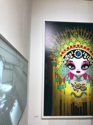 Pontone Gallery at SCOPE New York 2017, installation view