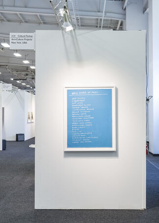 Art+Culture Projects at NADA New York 2016, installation view