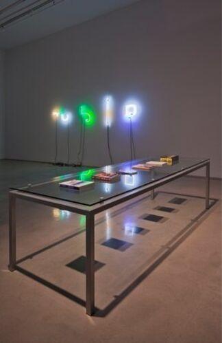 "Cory Arcangel and Pierre Bismuth - ""Cory Arcangel vs. Pierre Bismuth"", installation view"