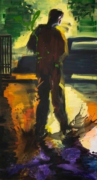 Rainer Fetting, 'Sunset Skater', 2018