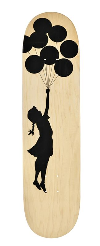 Banksy, 'Balloon Girl skateboard deck', 2017, Print, Screen print on wood, EHC Fine Art Gallery Auction
