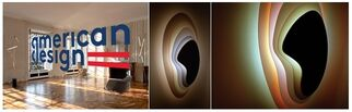 American Design, Mona Bismarck American Center for Art & Culture, Paris, France, installation view