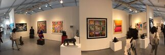 Galerie Vivendi at Art Palm Beach 2018, installation view